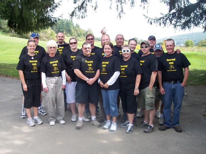 Finch Golf 2008 T-Shirt Photo