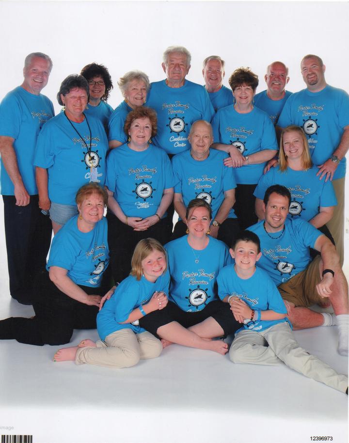 Porter Family Reunion T-Shirt Photo