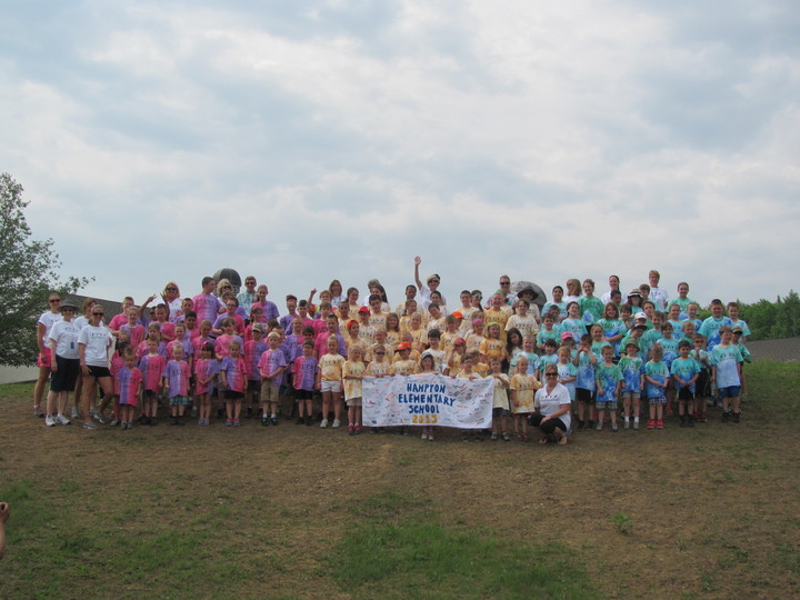 Hampton Elementary School Field Day T-Shirt Photo