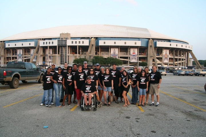Bears At Texas Stadium T-Shirt Photo