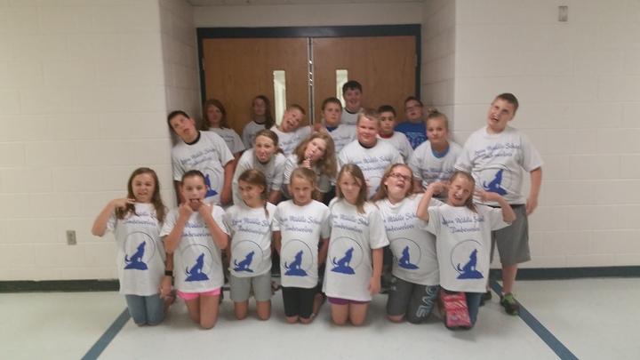 Ms. Miller's Beach Ninjas T-Shirt Photo