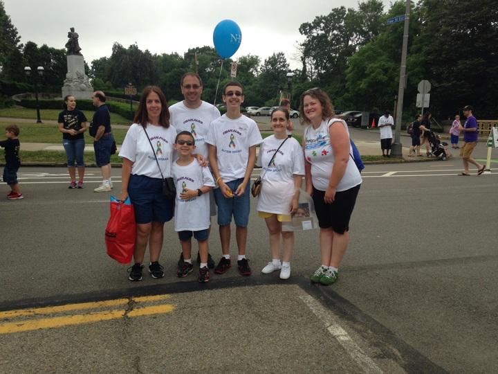 Autism Walk June 14, 2015 T-Shirt Photo