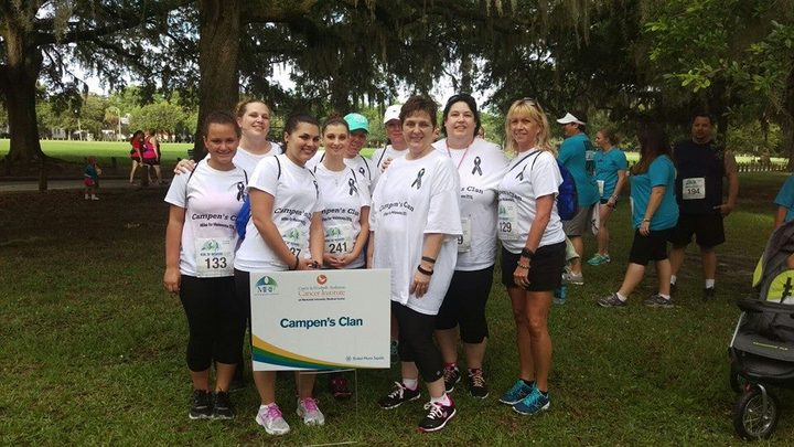 Melanoma Walk Campen's Clan T-Shirt Photo