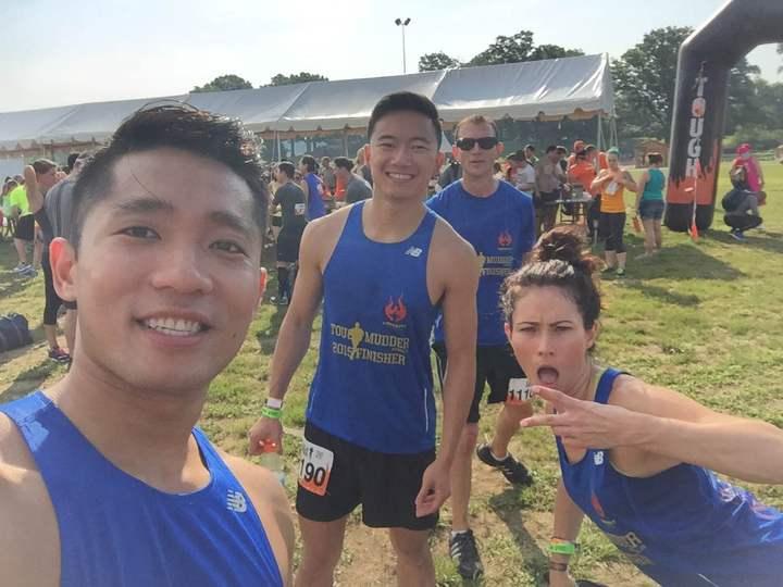 Crossfit Arlington Tough Mudder 2015 T-Shirt Photo