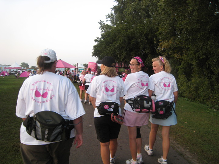 Walkin' For The Girls 2008 T-Shirt Photo