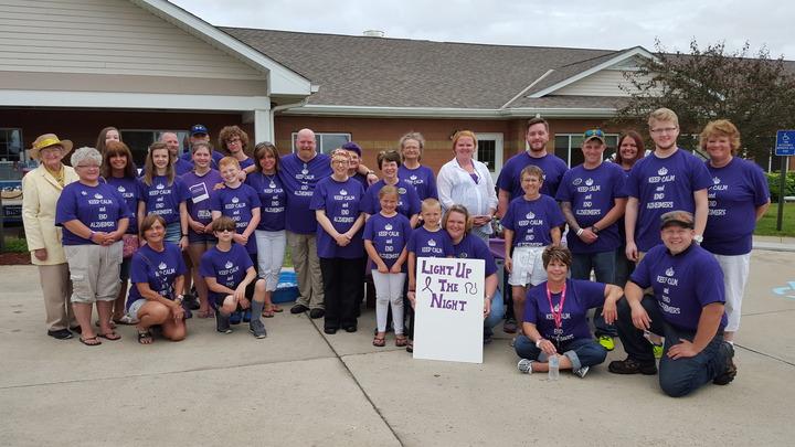 End Alzheimer's T-Shirt Photo