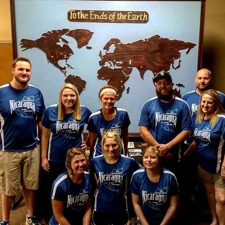 Team Nicaragua T-Shirt Photo