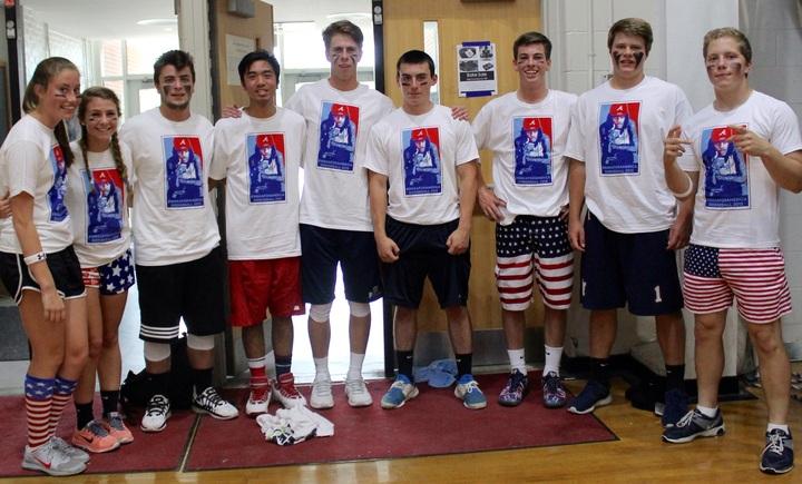 Squadgress Dodgeball Team T-Shirt Photo