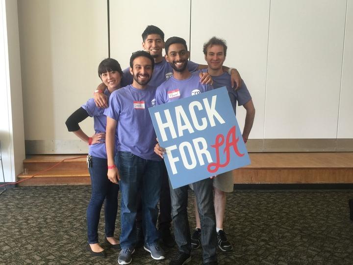 Civic Resource Group At Hack For La T-Shirt Photo