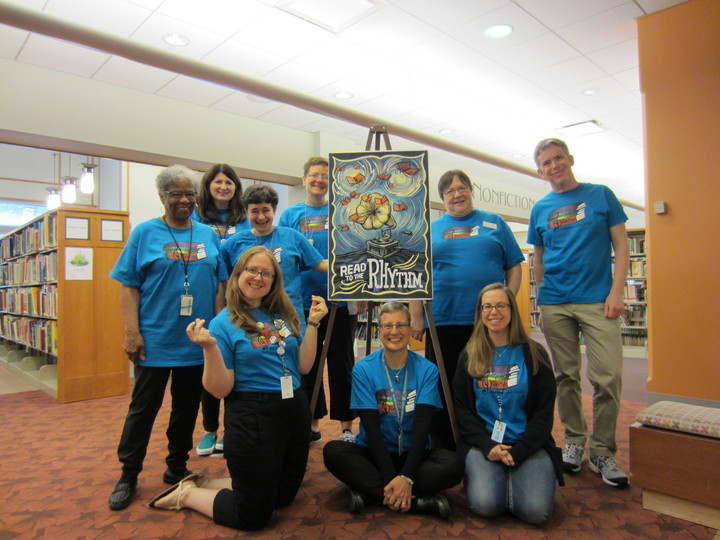 Summer Reading Program At The Evanston Public Library T-Shirt Photo