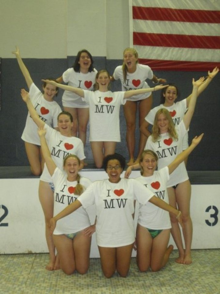 We Love Our School, Synchro And Our Custom Ink Ts! T-Shirt Photo