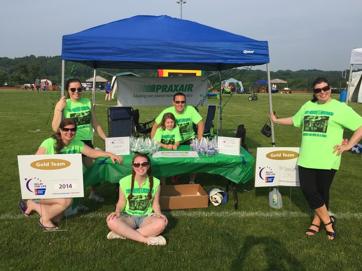 The Green Lanters At Relay For Life Of Bethel, Ct T-Shirt Photo