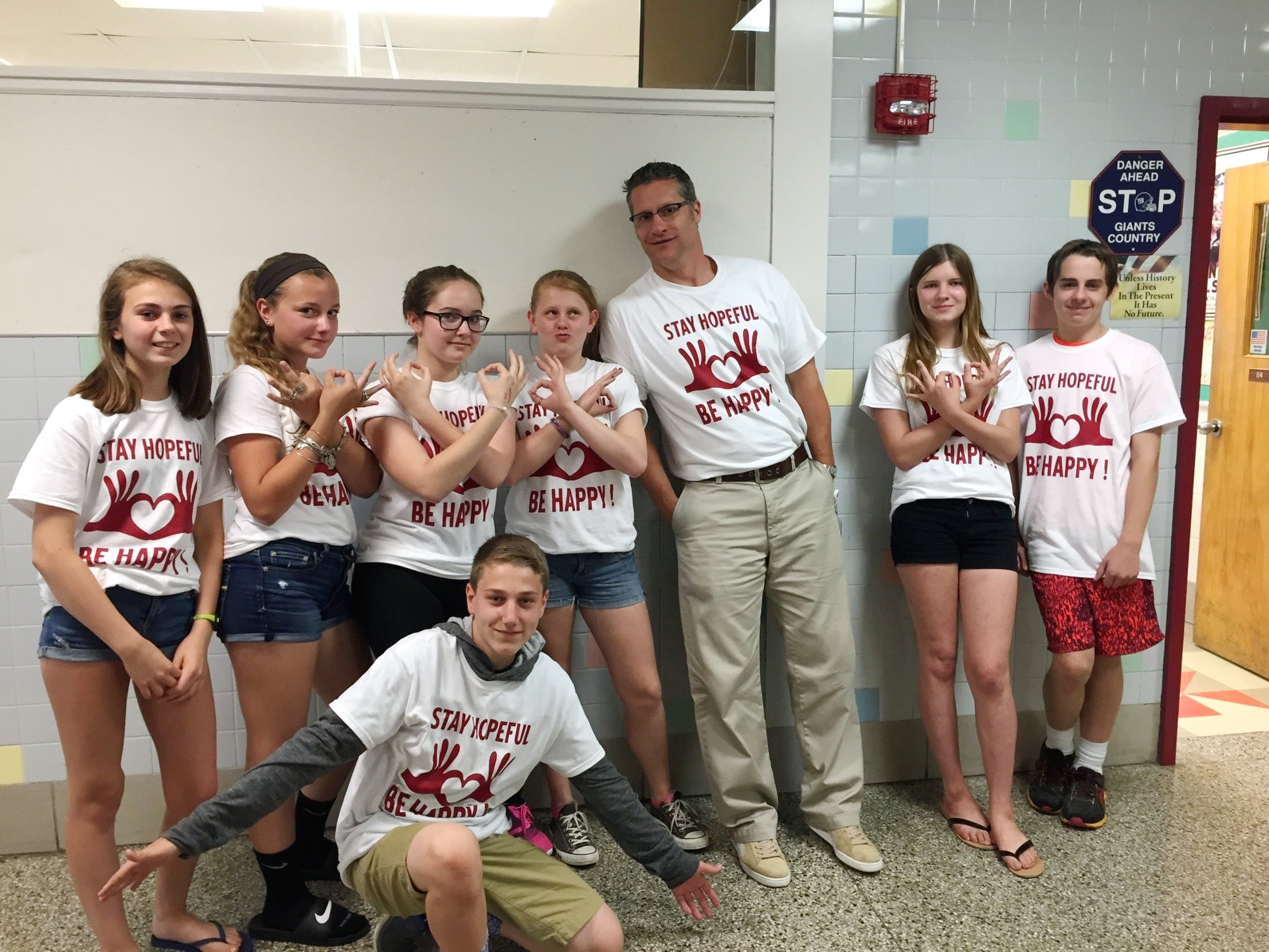 Custom T-Shirts for Middle School Suicide Prevention Awareness ...