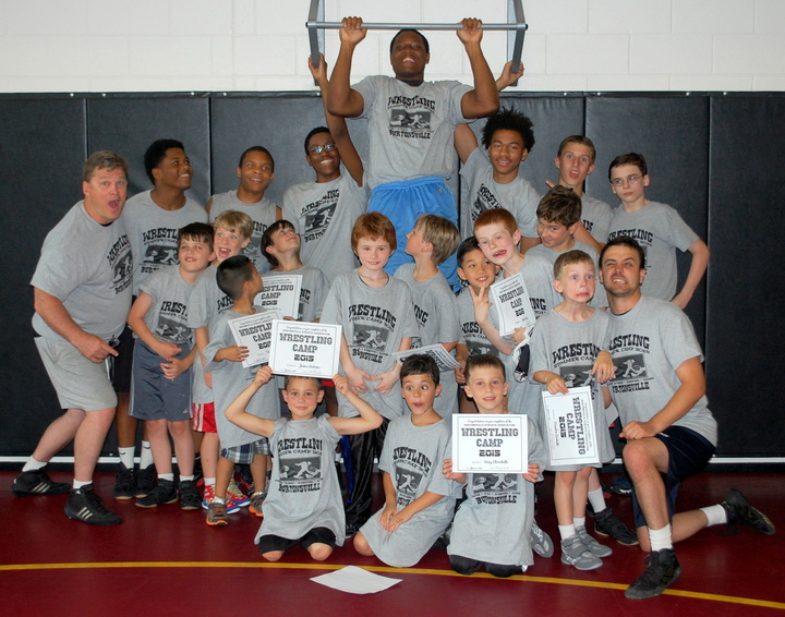 After A Week Of Hard Work In The Wrestling Room T-Shirt Photo