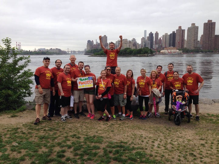 2015 Brain Tumor Walk T-Shirt Photo