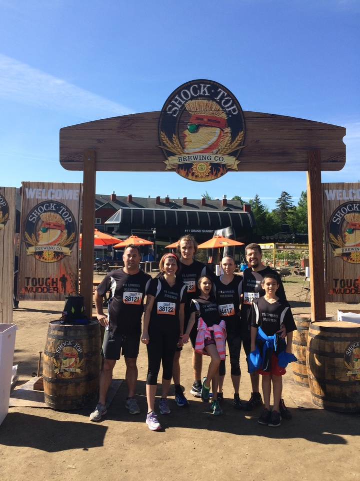 Tough Mudder Marauders! T-Shirt Photo