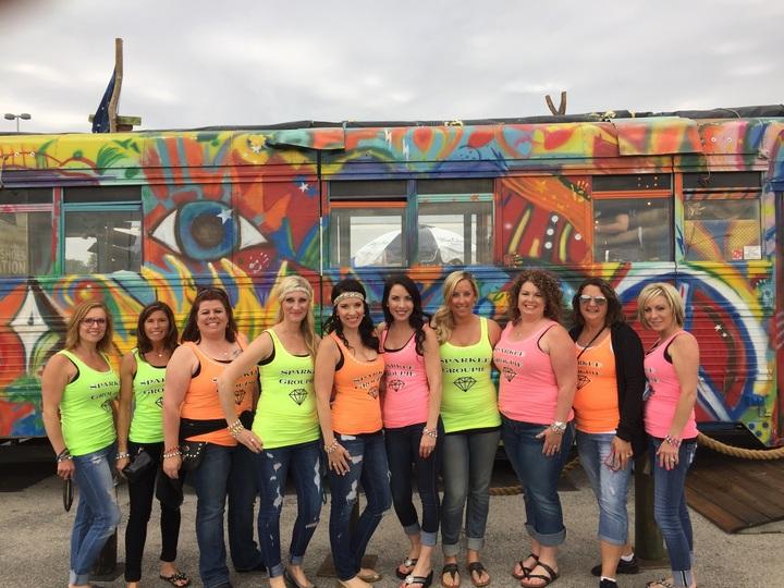 Sparkle Groupies   Big Revival Tour T-Shirt Photo