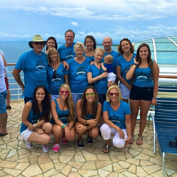 Oasis Of The Seas Fry Family Cruise 2015 T-Shirt Photo
