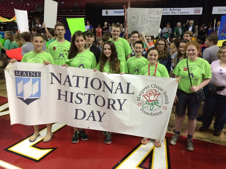 National History Day In Maine T-Shirt Photo