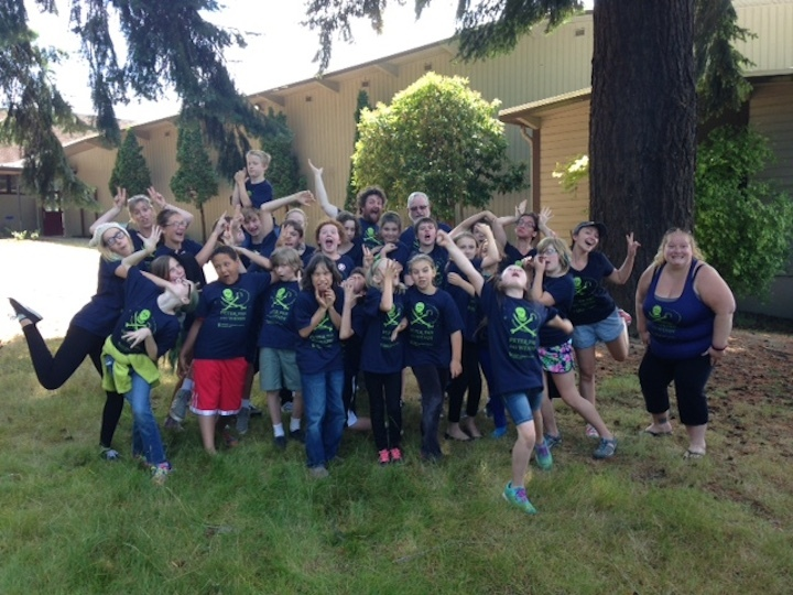 Whidbey Children's Theater Peter Pan Cast & Crew T-Shirt Photo