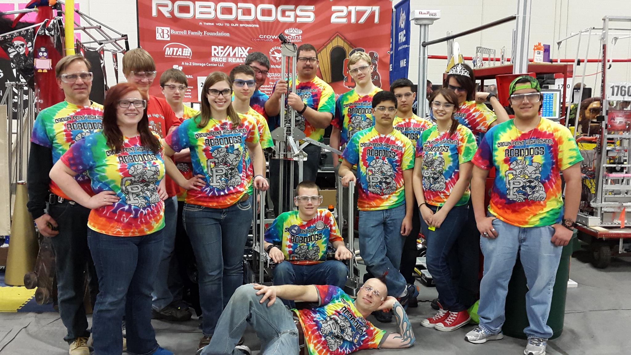 Shirt design louisville ky - Crown Point Robo Dogs Robotics Team 2171 T Shirt Photo