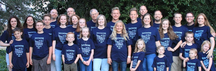 Crawford Family Reunion T-Shirt Photo