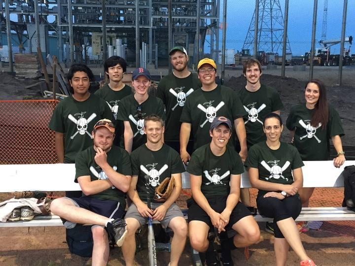 Constructing A Softball Team!   T-Shirt Photo