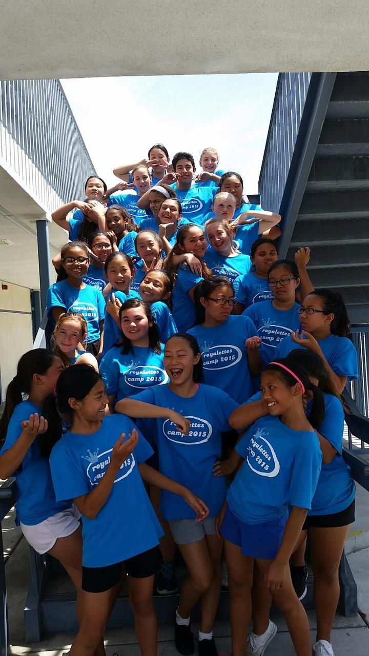Oak Avenue Royalettes Summer Camp 2015 T-Shirt Photo