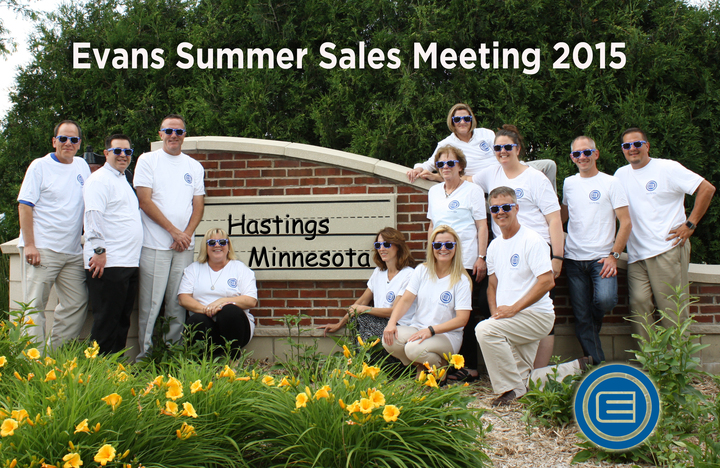 Evans Summer Sales Meeting 2015 T-Shirt Photo