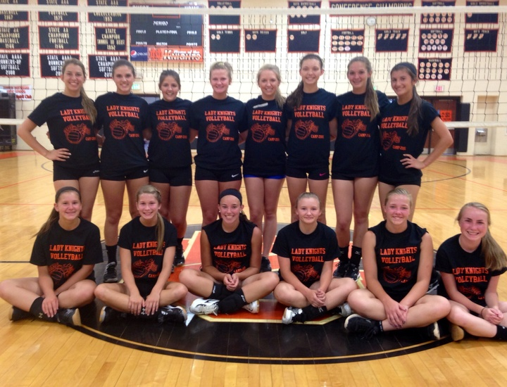 Volleyball Camp T-Shirt Photo