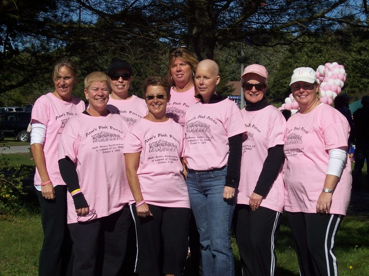 Pam's Pink Posse T-Shirt Photo