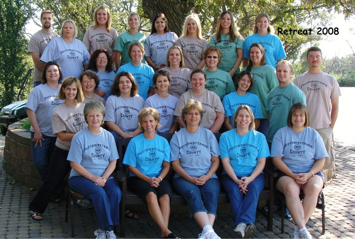 2008 Annual Retreat (And Looking Good Doing It!) T-Shirt Photo