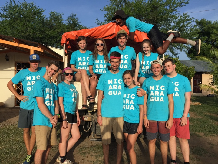Thrive Students In Nicaragua T-Shirt Photo