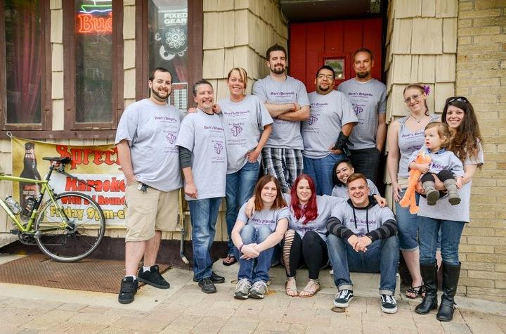 Bert's Brigade T-Shirt Photo