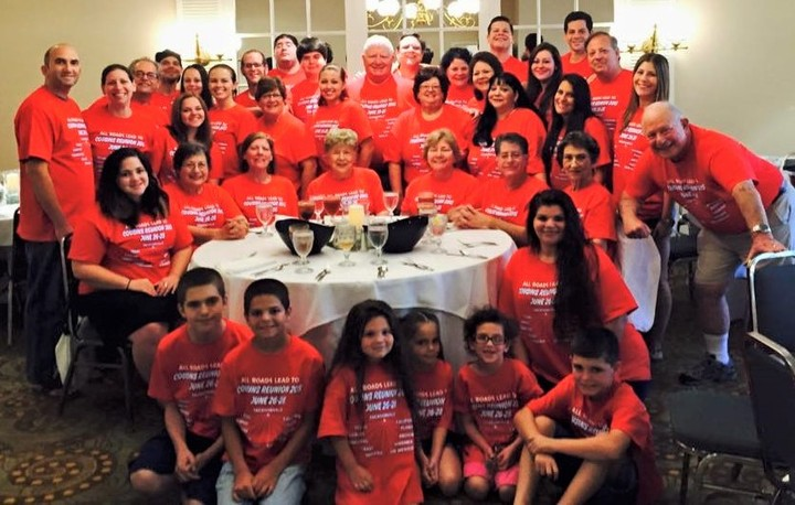 Cousins In Red 2015 T-Shirt Photo