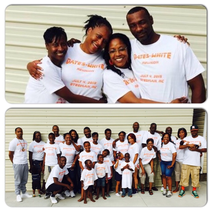 Oates White Reunion 2015 Thanks Customink T-Shirt Photo