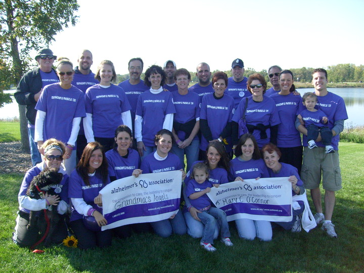 Alzheimer's Association Memory Walk T-Shirt Photo