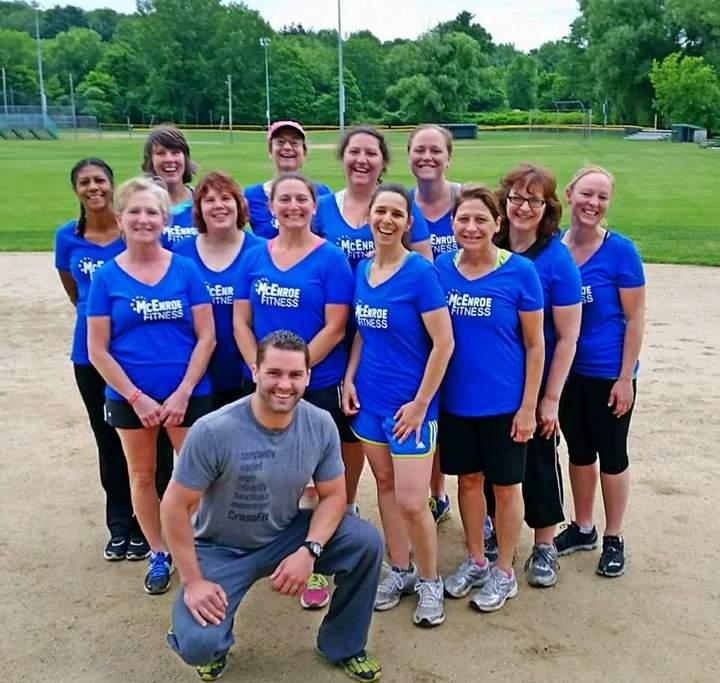 Mc Enroe Fitness T-Shirt Photo