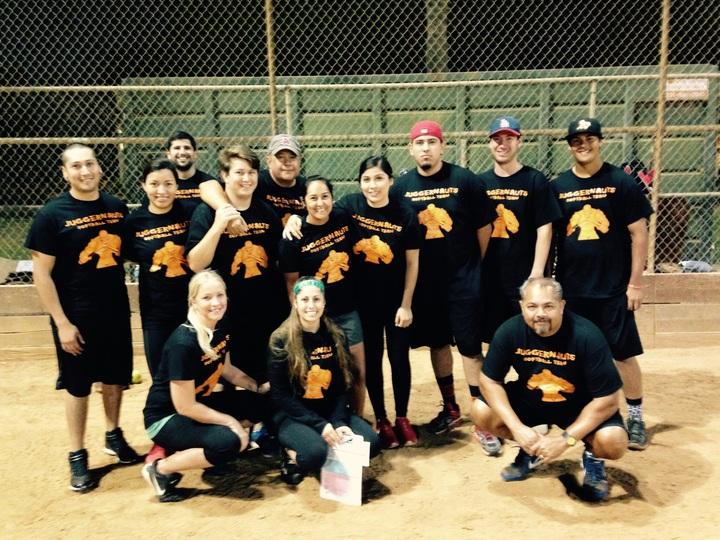 Juggernauts Softball Team T-Shirt Photo