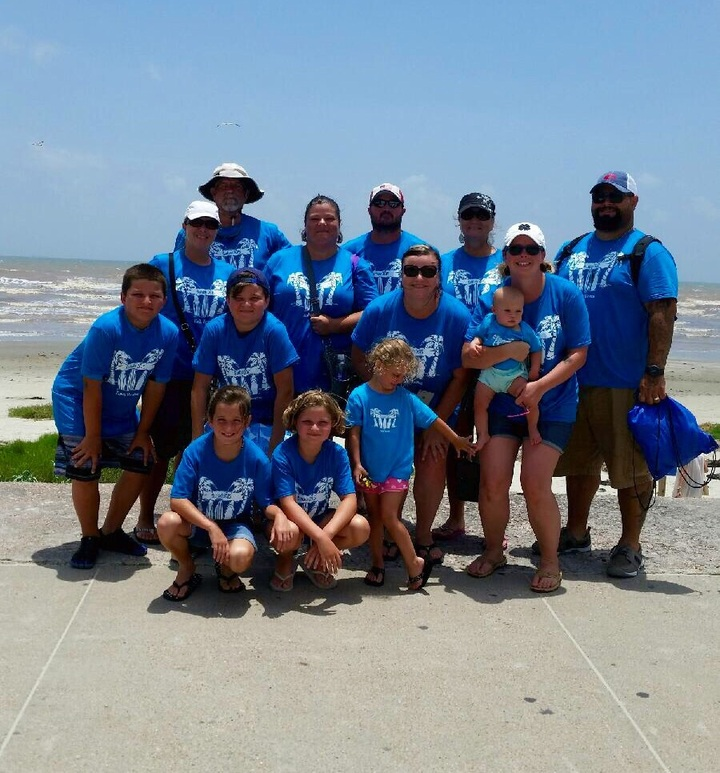 Surfside Beach, Tx Family Vacation 2015 T-Shirt Photo