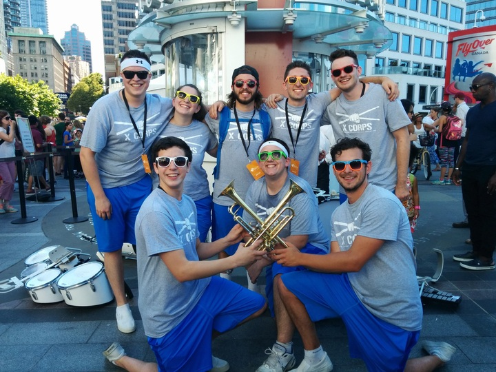 X Corps   Live At Canada Place! T-Shirt Photo