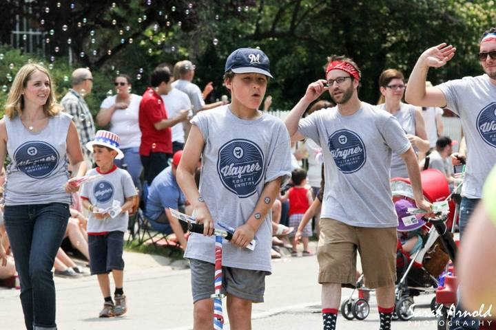 Whitefish Bay Wisconsin Parade! T-Shirt Photo