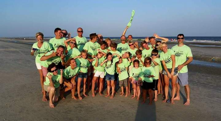 Balazs   Drlik Reunion 2015 Hilton Head  T-Shirt Photo