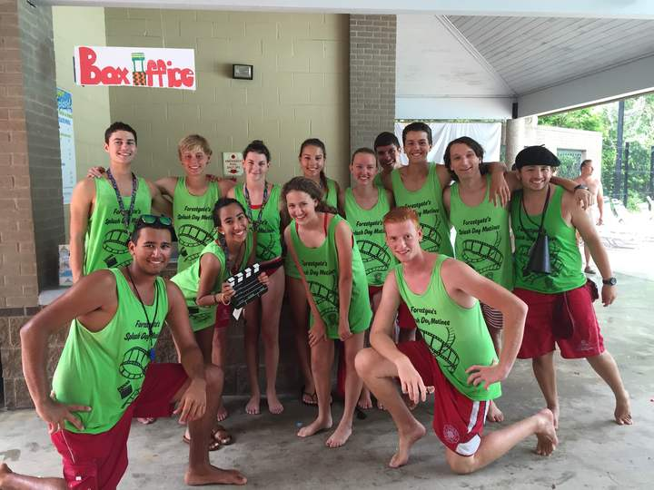 Lifeguard Splash Day T-Shirt Photo