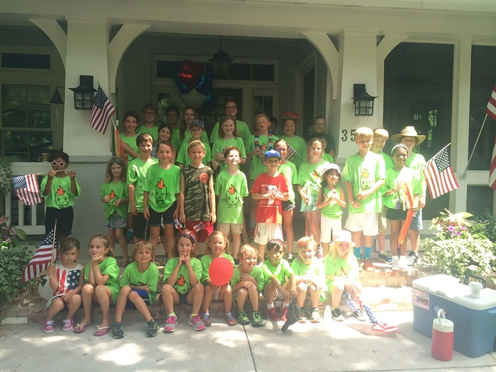 4th Of July Neighborhood Float! T-Shirt Photo
