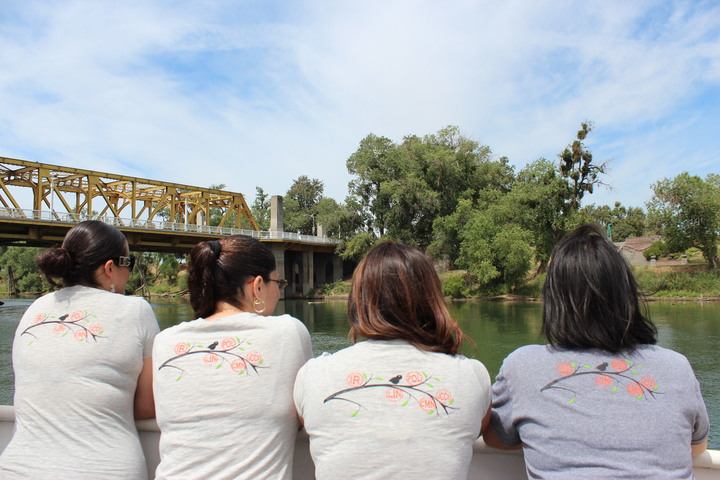 Enjoying The Sacramento River T-Shirt Photo