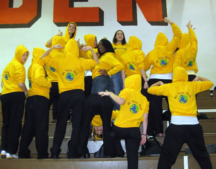 "Volleyball Sweats...""We Takin Over"" T-Shirt Photo"