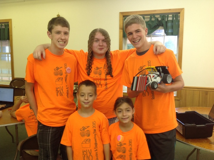 Robotics And Engineering July Team B T-Shirt Photo