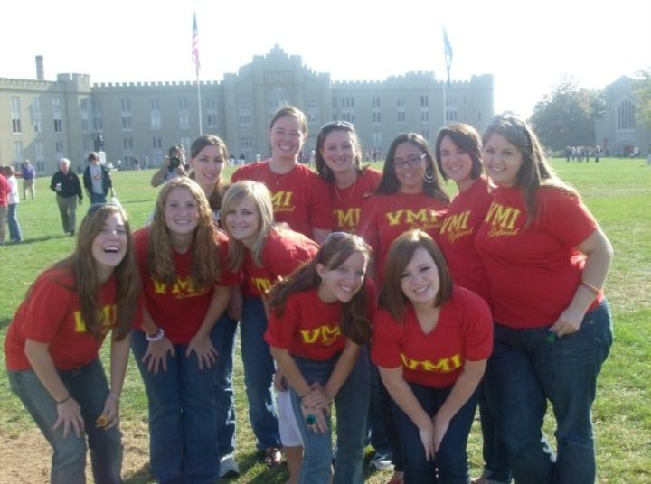 Vmi Girlfriends T-Shirt Photo