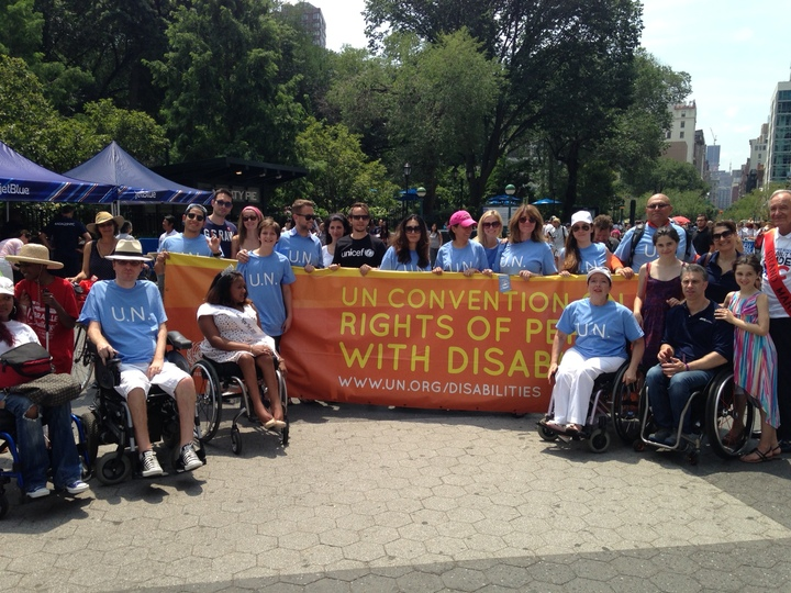 Promoting The Rights Of Persons With Disabilities In Nyc T-Shirt Photo
